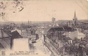 France Dijon Vue generale prise de l'Eglise Saint-Michel