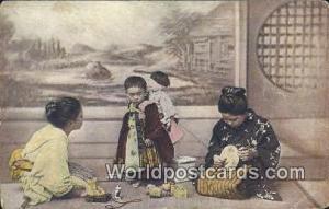 Japan Japanese Children, Non Postcard backing Japanese Children, Non Postcard...