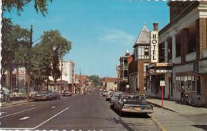 Main Street , DRUMMONDVILLE , Quebec , Canada , 40-60s