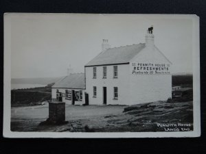Cornwall LAND'S END Penwith House & Tea Shop c1950s RP Postcard by Johnston