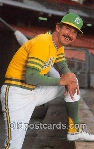 Baseball Postcard Base Ball Post Card Billy Martin unused