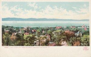 BURLINGTON, Vermont, 1901-07; Lake Champlain from University Grounds