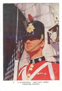A Guardsman-Old Fort Henry, Kingston, Ontario, Canada, 40-60s