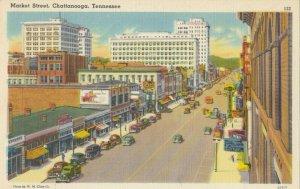 CHATTANOOGA, Tennessee , 1930-40s ; Market Street