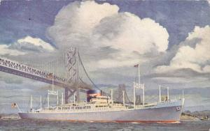 Sister ship of the Round World Fleet, American President Lines, 40-60s
