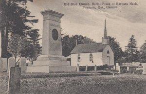 PRESCOTT , Ontario , 1900-10s ; Old Blue Church