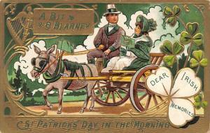 A Bit O'Blarney St. Patrick's Day Postcard A Bit O'BlarneyI wr...