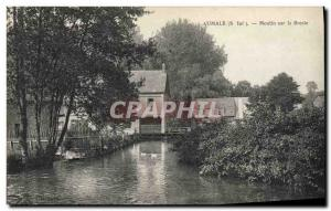 Postcard Old water mill Aumale Mill on the Bresle
