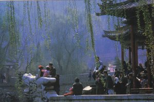 Huaqing Pool In Lintong Of Xi'an Shaan xi China