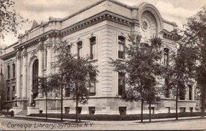 New York Syracuse Carnegie Library1908