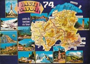 HAUTE-SAVOIE, France, 1960-1970s; 12 Views, Centre De Tourisme Ete Hiver