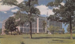Dr. Nichols' Sanatorium For Cancer, Savannah, Missouri, Early Postcard, Unused