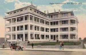 Arkansas Hot Springs Sigler Apartments