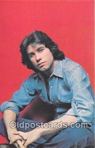 John Travolta Movie Actor / Actress, Entertainment Postcard Post Card  John T...