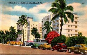 Florida Miami Beach Collins Avenue At 44th Street