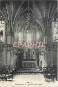 Old Postcard Amboise - the Chapel of the Interieur Ch�teau