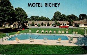 Florida New Port Richie The Richey Motel 1989
