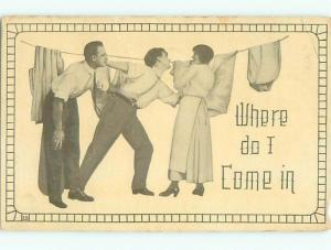 Divided-Back COMIC SCENE Great Postcard AA9727