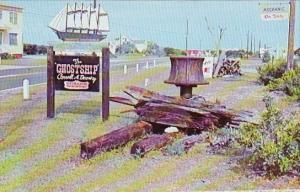 This Is One Of The Remains Left From Many Shipwreacks Lost At Sea Hatteras No...
