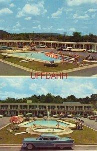 ANTHONY MOTEL, HOT SPRINGS NAT'L PARK, AR Garland Anthony, Pres. 1958 CADILLAC