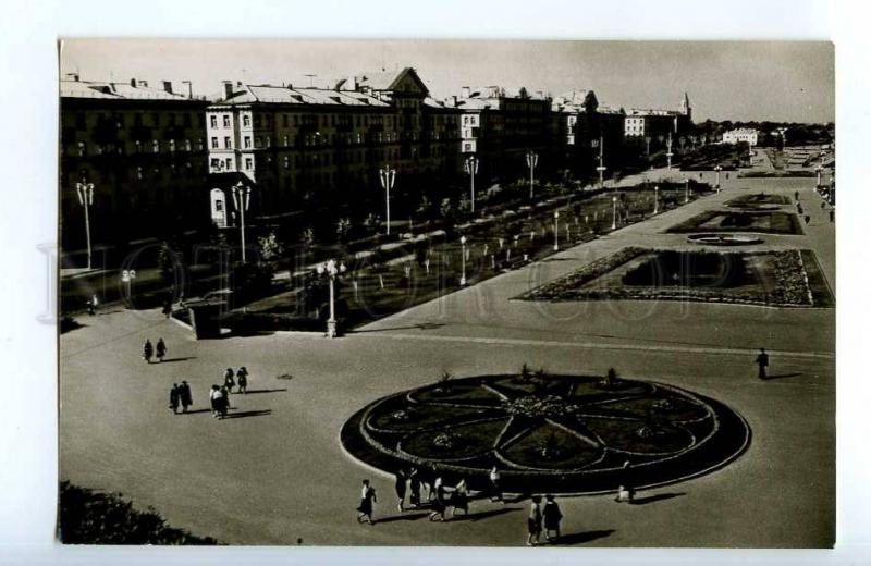 253882 RUSSIA Astrakhan Lenin square old postcard