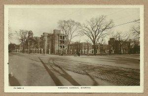 RP: TORONTO, Ontario, Canada, 1920-1940s; General Hospital