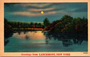 New York Greetings From Larchmont 1947
