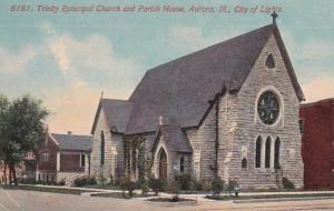 Illinois Aurora Trinty Episcopal Church and Parish House