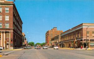 Emporia Kansas~Hotel Broadview~Corner Banks (State)~Other Shops (All Gone) 1950s