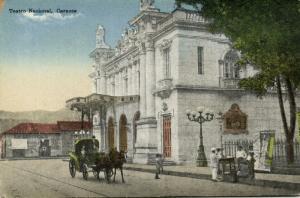 venezuela, CARACAS, Teatro Nacional, National Theatre (1910s)