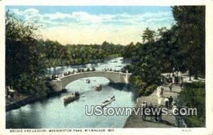 Bridge & Lagoon, Washington Park
