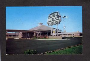 GA Smith Hotel Kennesaw nr Marietta Georgia Postcard W B Smith Owner