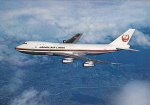 Japan Air Lines [JAL] Boeing 747 Jet Airplane , 60-70s