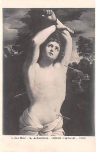 Italy Old Vintage Antique Post Card Guido Reni Roma Unused