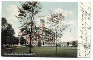 Montpelier Seminary, Montpelier, Vermont, 1908