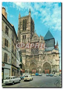 Modern Postcard Meaux (SML) The Cathedral St Etienne (XII XVI century)