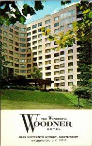 VINTAGE The Woodner Hotel Washington DC UNPOSTED POSTCARD