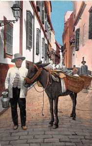 Un Lechero Sevilla Spain Writing on back