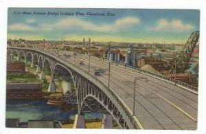 Main Avenue Bridge,West,Cleveland,Ohio,PU-47