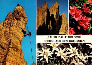 Italy Saluti Dalle Dolomiti Multi View 1985
