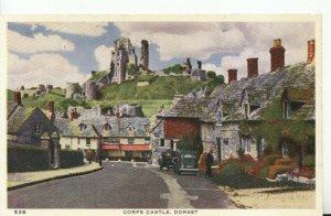 Dorset Postcard - Corfe Castle - 18884A