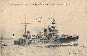 Nautica Navy Ship Marine Militaire Française Liberté Cuirassé de 1er rang 03.29