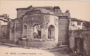 France Arles Le Palais de Constantin