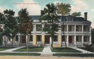 FORT SHERDAN , Illinois , 1900-10s ; Bachelors' Club