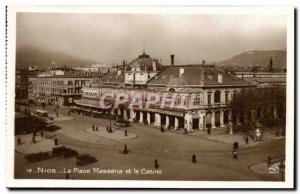 Old Postcard The Nice Place Massena And Casino