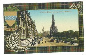 Hunting Stewart Colors , Princes Street , Edinburgh , Scotland , 00-10s