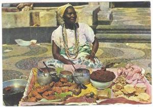 Bahiana - In typical dresses, Salvador, Bahia, Brazil, PU-1979