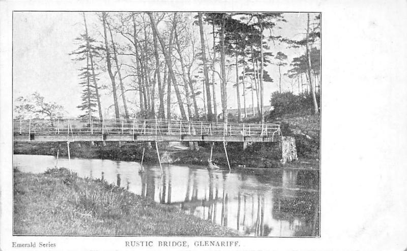 Northern Ireland (Antrim) Glenariff, Rustic Bridge, Pont, Emerald Series