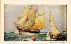 A Brig Outward Bound (Sailing)