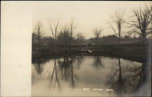 West Medway MA c1905 Real Photo Postcard